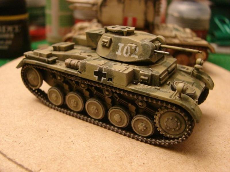 Panzer II Ausf.F [Revell/Matchbox - 1/76] Dsc09118