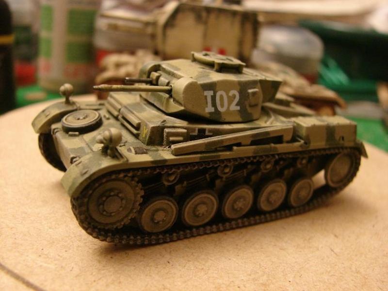 Panzer II Ausf.F [Revell/Matchbox - 1/76] Dsc09119