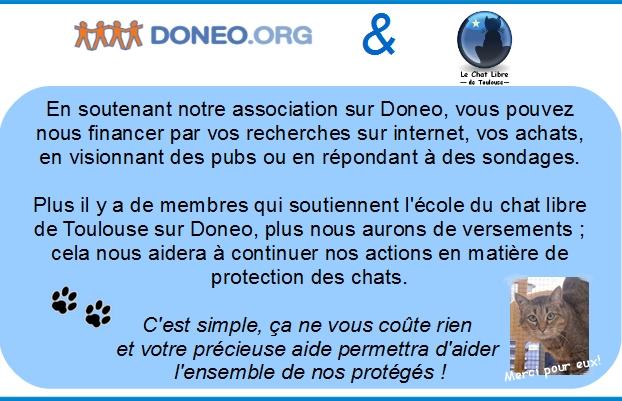 Nouveau : Donéo et notre association!!  Doneo11
