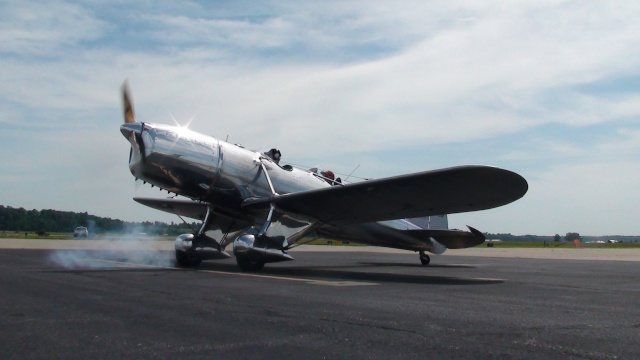 "On the Ramp Right Now:  P-51D ""Swamp Fox"" Visits KCGI  - Page 6 Dsc00223"