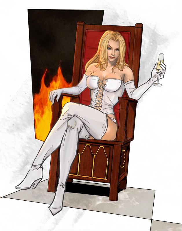 "Nina Grace Frost "" La Reine Blanche "" Ou "" La Prof Sexy "". Emma_f11"