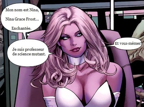 "Nina Grace Frost "" La Reine Blanche "" Ou "" La Prof Sexy "". Nina110"