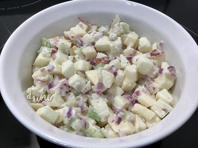 Salade de pommes 4c5dbf10