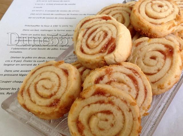 Biscuits spirales à la confiture Dhs2od10
