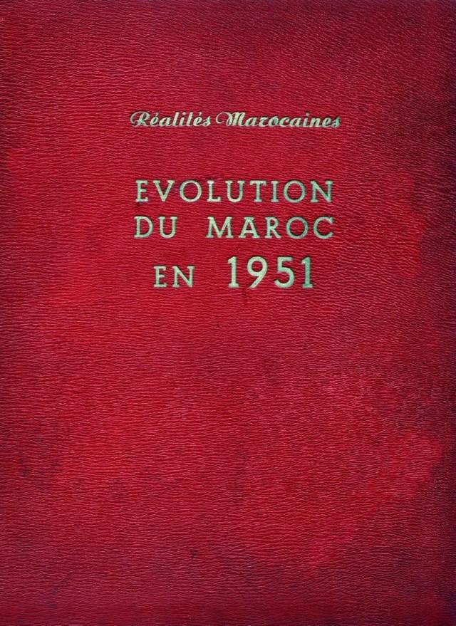 Evolution du Maroc en 1951. Swsca161