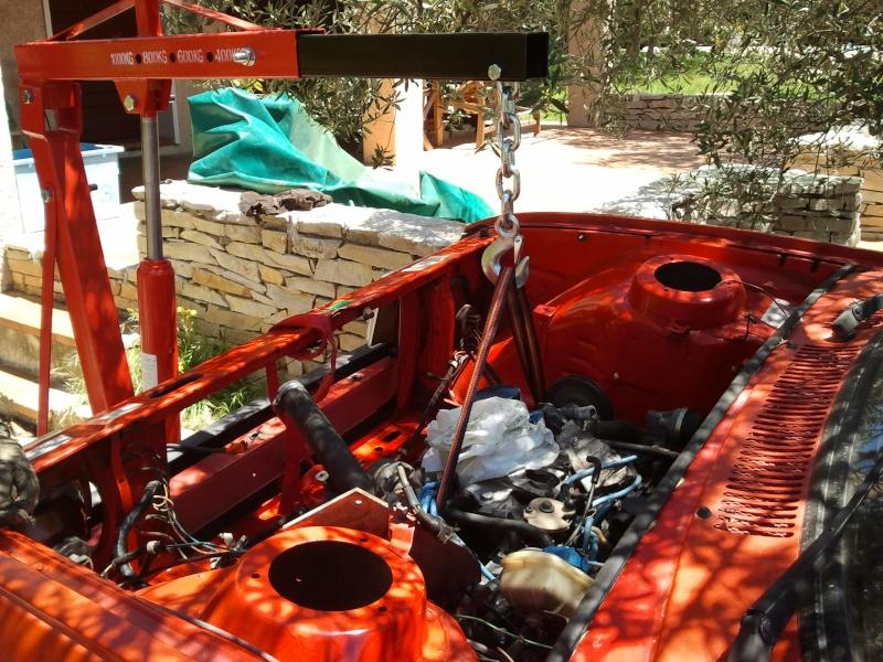 Début de la restauration de mon cab. 2013-015