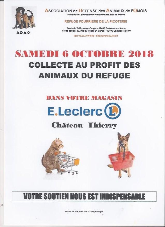 OPERATION CADDIES LECLERC 6 OCTOBRE 2018 Scan0010
