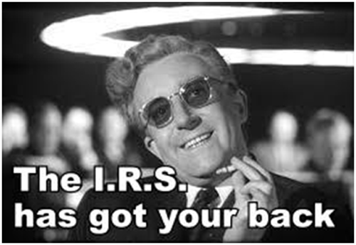 We got your back Irs10