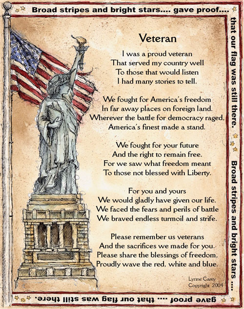 Happy Memorial Day to All and Thank You! Vetera10
