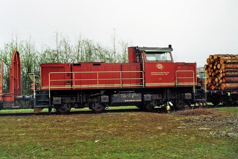 V 152 der HzL (Hohenzollerische Landesbahn) 2013-014