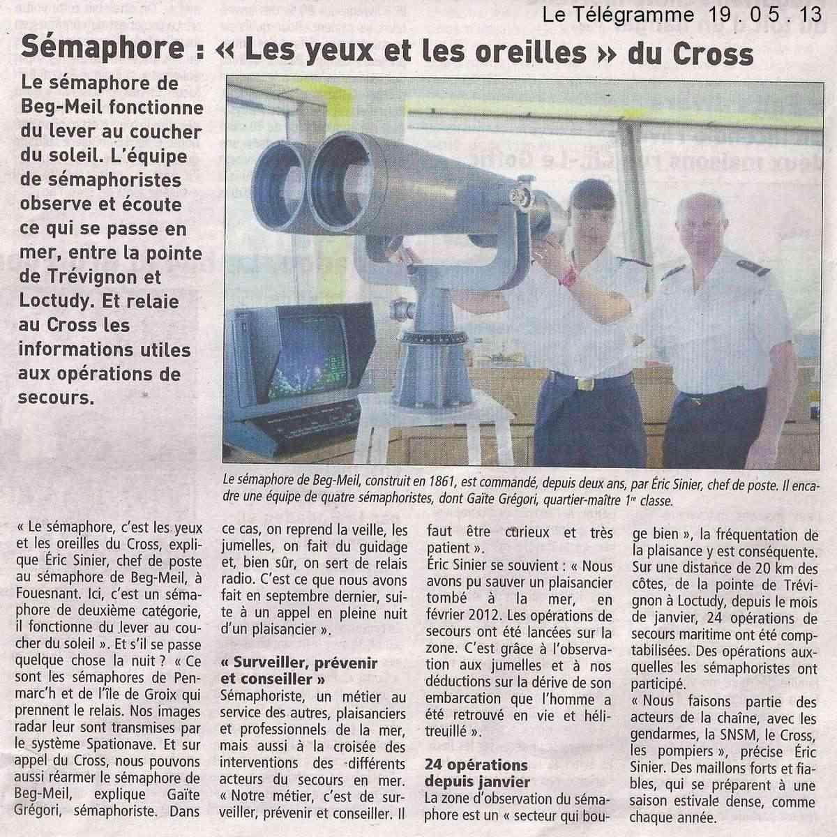 SÉMAPHORE - BEG MEIL (FINISTÈRE) - Page 4 Scan1427