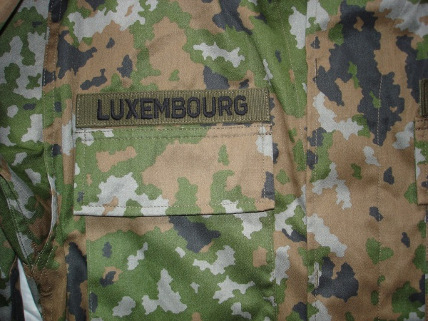 The new Luxembourg ´´ LUX Waldtarndruck ´´ camo Combat Uniform  Lu_wal13