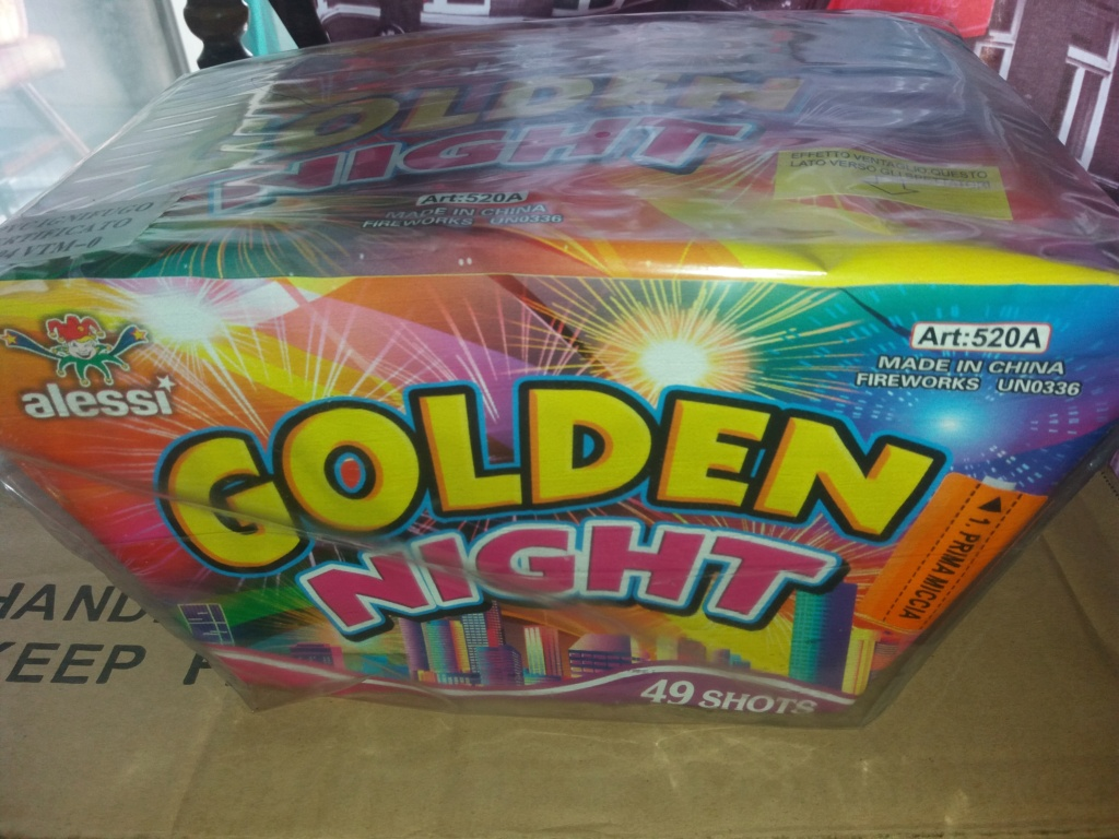 Golden night 49 colpi Alessi 20210910