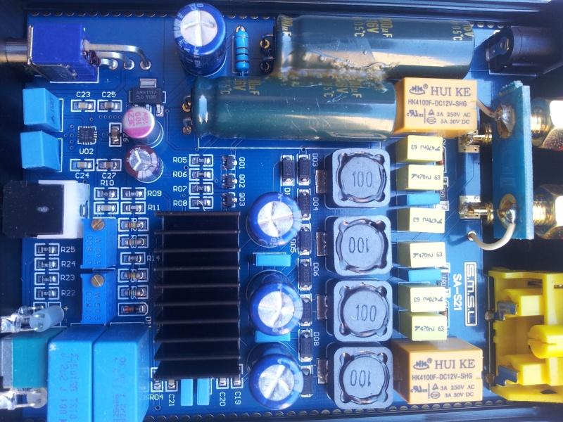 modifiche - SMSL SA-S3 amplificatore con Tripath TA2021 test e misure - Pagina 3 20130613