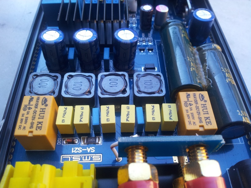SMSL SA-S3 amplificatore con Tripath TA2021 test e misure - Pagina 3 20130615