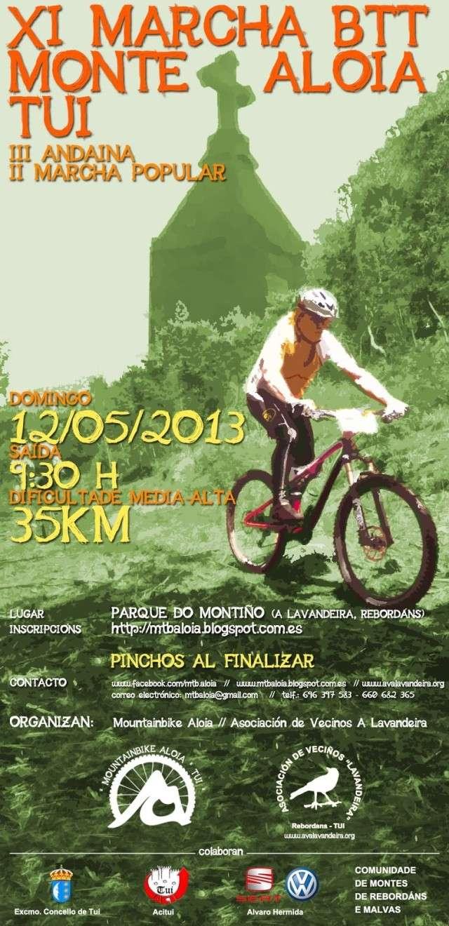 XI Marcha Monte Aloia (12/05/´13) Cartel11