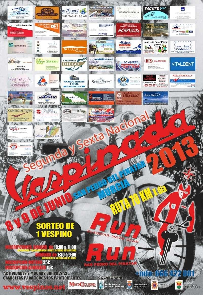 2ª Vespinada RunRun y 6ª nacional Cartel11