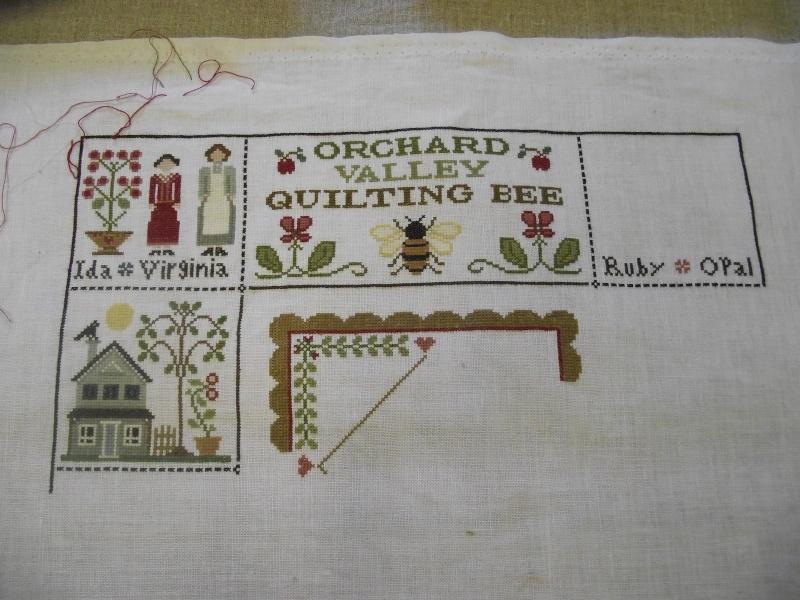 Orchard Valley Quilting Bee de LHN suite le 30 Octobre - Page 24 Dscf3122