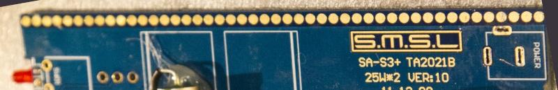 modifiche - SMSL SA-S3 amplificatore con Tripath TA2021 test e misure - Pagina 3 Bollin10