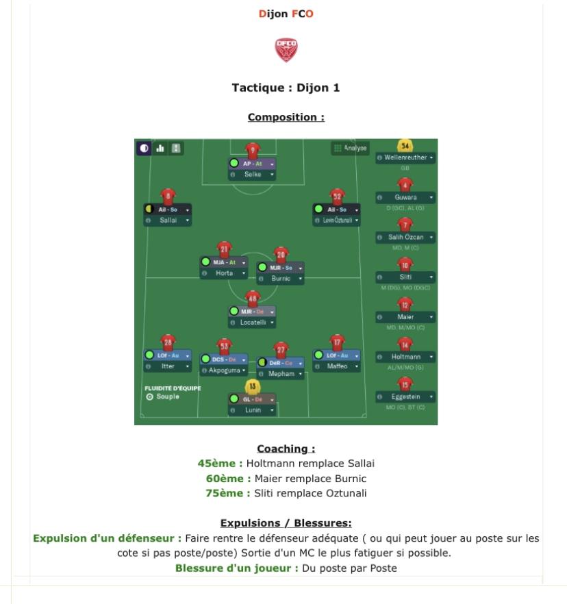 Compositions 1/8 ème tour de la Coupe de France avant Jeudi 12h 9ecdce10