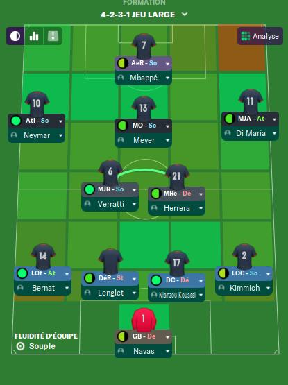 Premier matchs amicaux  16 Juillet  avant Mardi 12h Equipe18