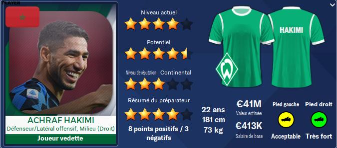 Werder Bremen Hakimi10