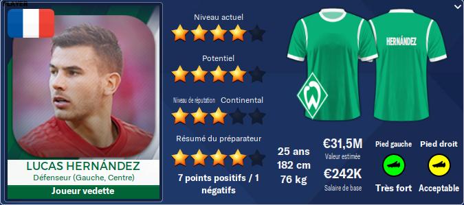 Werder Bremen Hernan10