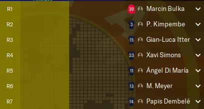 Match avancé 3ème Journée avant Samedi 12h Remp58