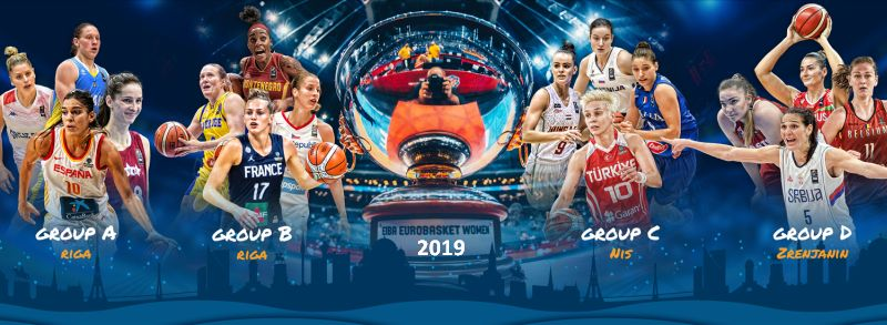 Eurobasket femenino 2019 - Semifinal - España-Serbia 00417