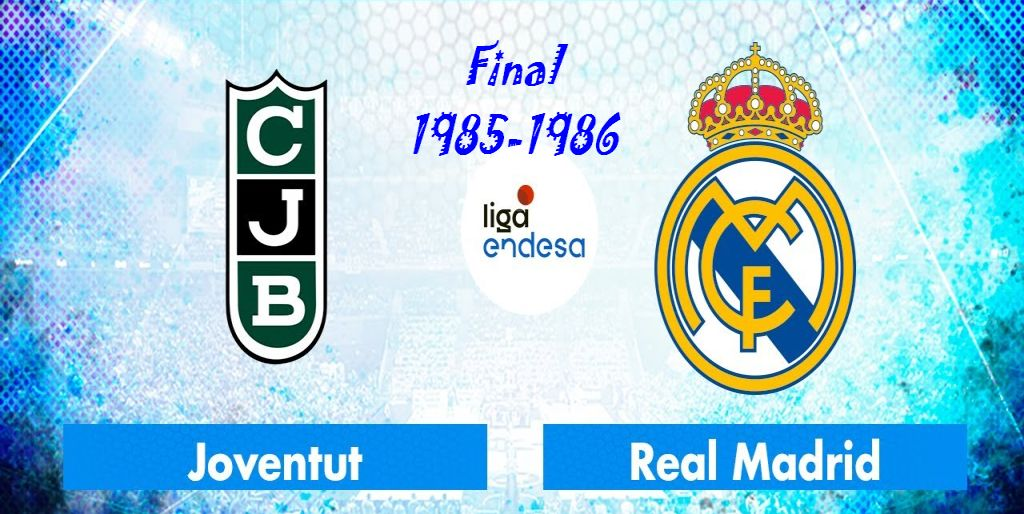 Copa del Rey 1986 - Final - R Madrid-Joventut 00842