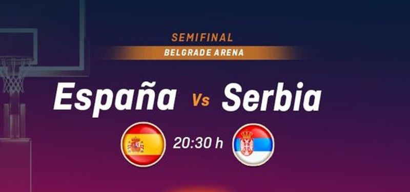 Eurobasket femenino 2019 - Semifinal - España-Serbia 0702