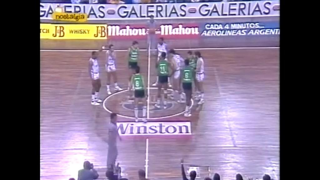 Copa del Rey 1986 - Final - R Madrid-Joventut 11844