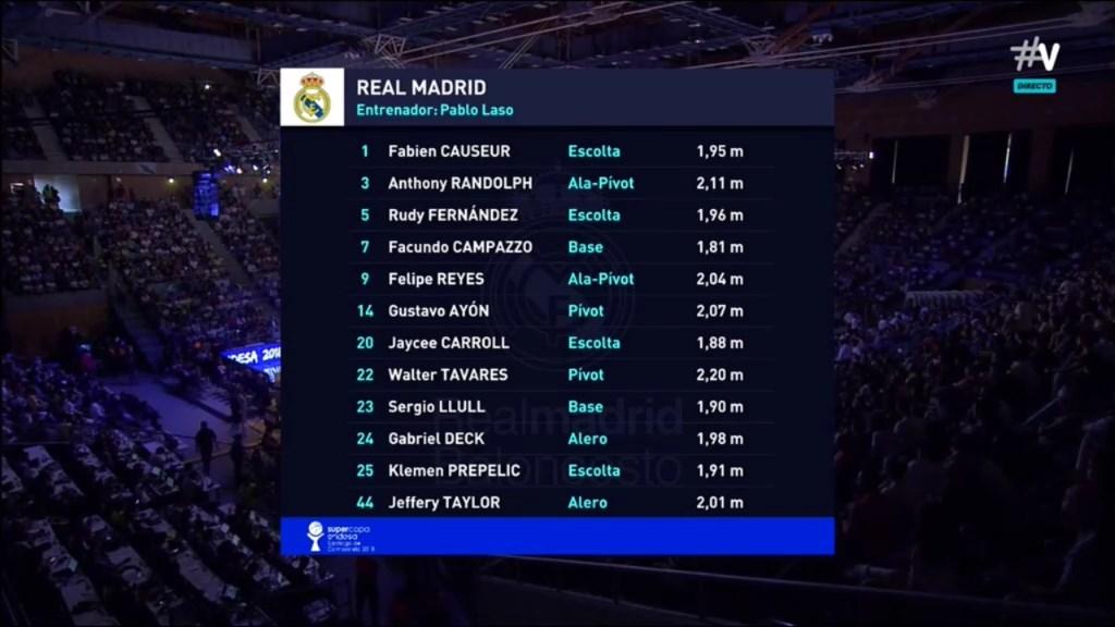 Supercopa ACB 2018-2019 Final - R Madrid-Baskonia 1235