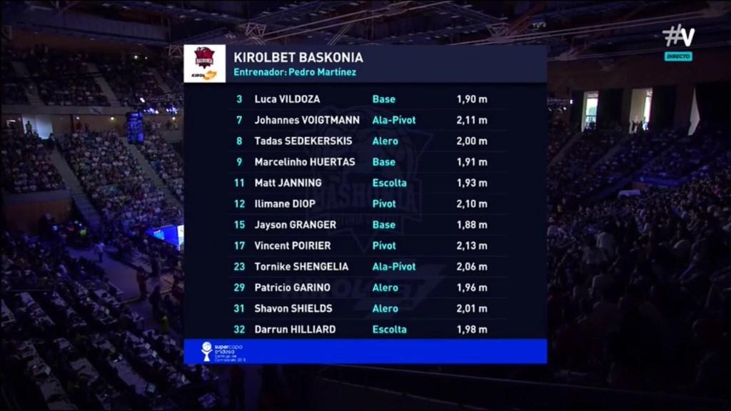 Supercopa ACB 2018-2019 Final - R Madrid-Baskonia 2225