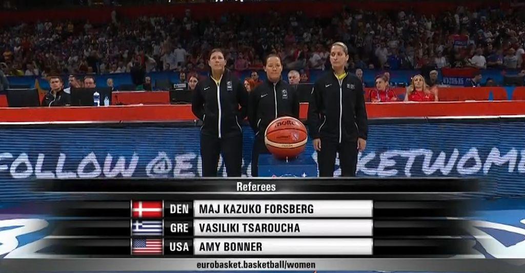 Eurobasket femenino 2019 - Semifinal - España-Serbia 3504