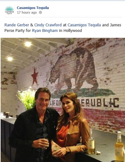 George Clooney and Rande Gerber's Casamigos tequila GENERAL THREAD - Page 5 Cindy10