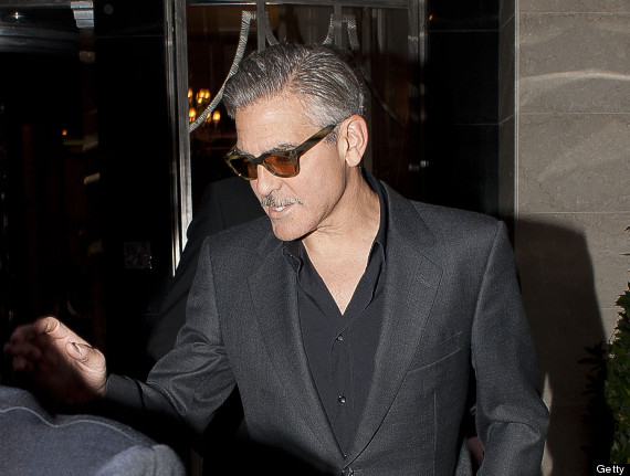 George Clooney - The facial hair must go!!! Cloone27
