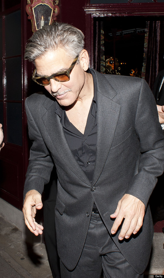 George Clooney - The facial hair must go!!! Cloone28