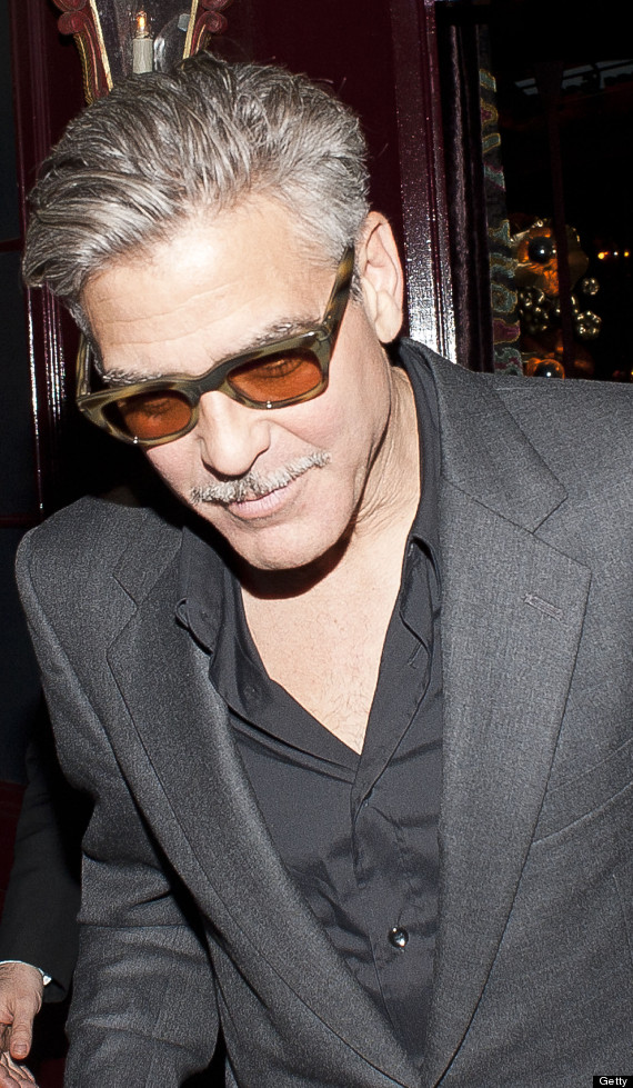 George Clooney - The facial hair must go!!! Cloone29