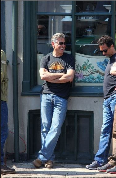 George Clooney filming in Rye  - Page 2 George12