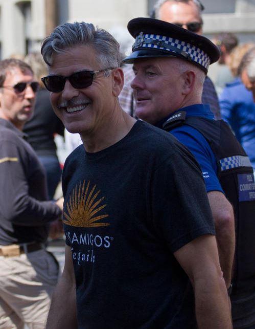 George Clooney filming in Rye  - Page 2 George15
