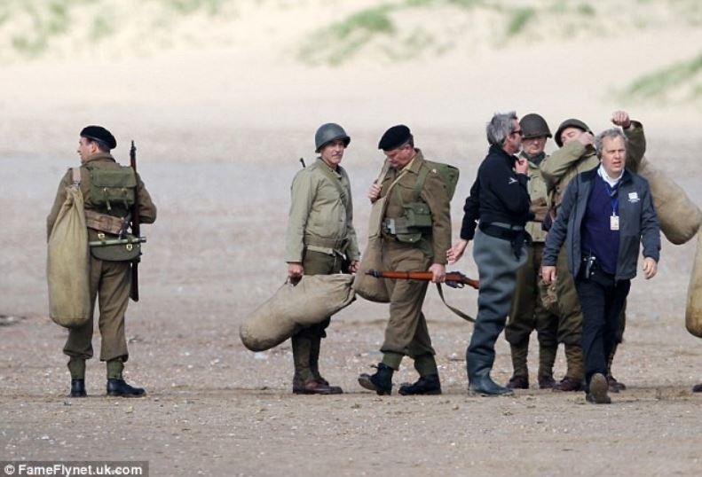 George Clooney filming in Rye  Rye_ge12