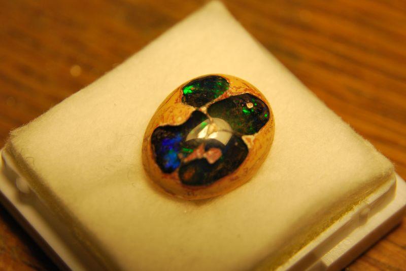 Pendentif opale boulder dans sa gangue avec des questions pour la finition Dsc_1232