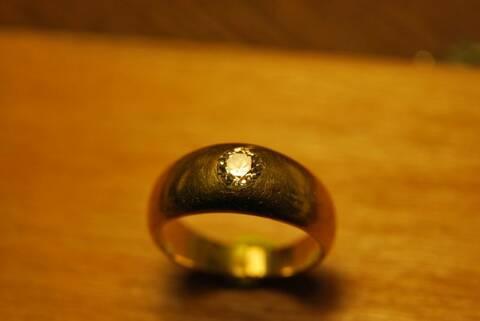 reparer bague en or