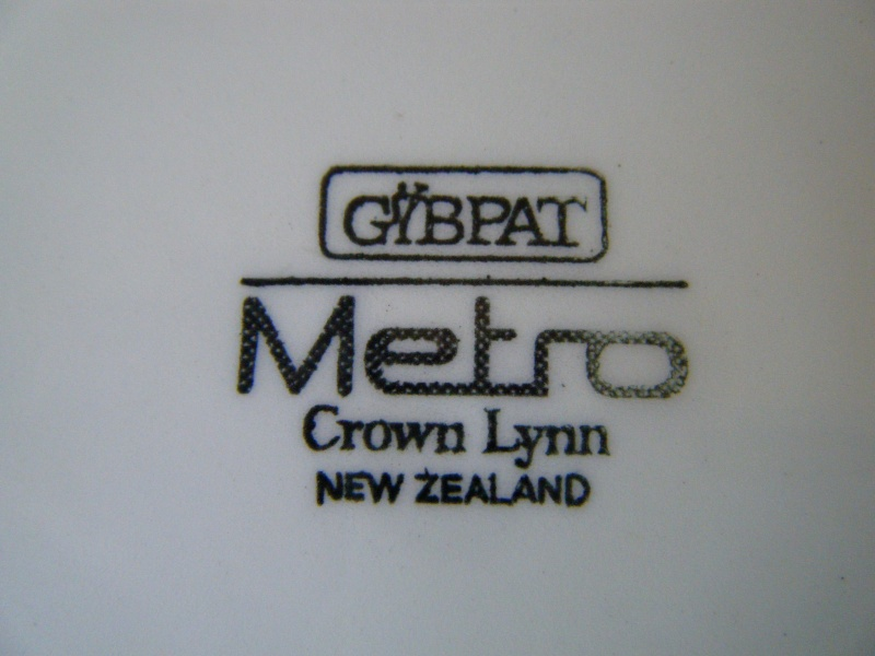 Gibpat Metro Crown Lynn NZ Metro10
