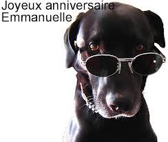 Anniversaire Emmanuelle