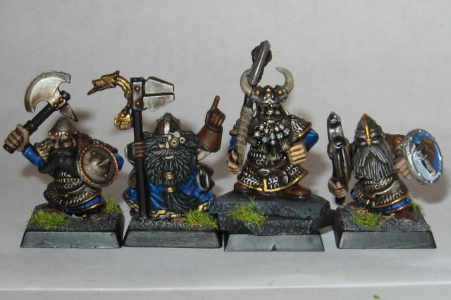 Spectre's Dwarf Warband:  a start Dwarfs10