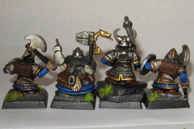 Spectre's Dwarf Warband:  a start Dwarfs11