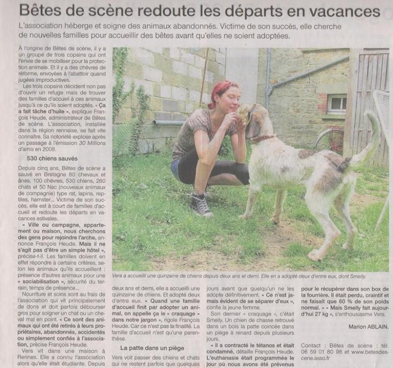 Ouest France - Jeudi 30 mai 2013 Of300512