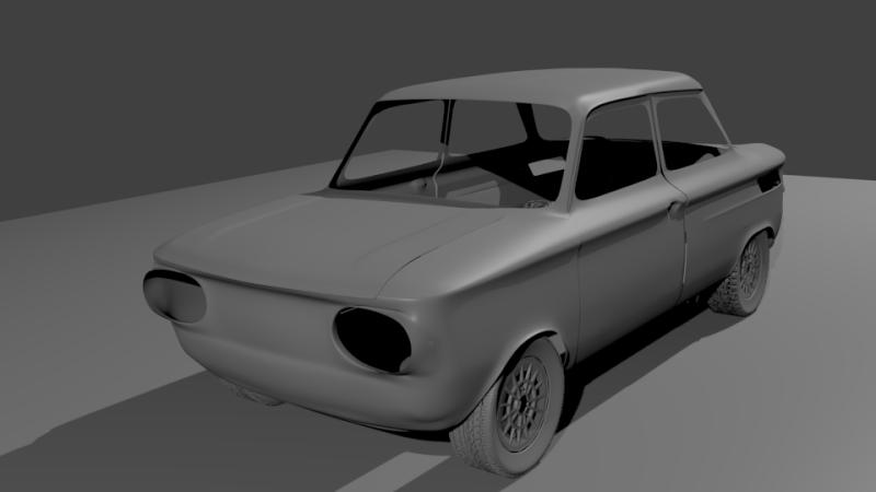 Une TT en 3D Evo1010